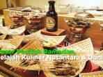 pasar pondok ramadan, jelajah kuliner nusantara dan dunia